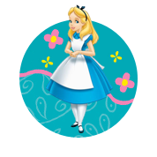 Kleurplaten K3 Alice In Wonderland.Kleurplaten Alice In Wonderland Disney