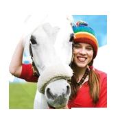 Kleurplaten Amika En Merel.Kleurplaten Amika En Haar Paard Merel Studio100