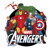 Kleurplaten The Avengers (Marvel)