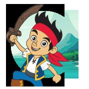 Kleurplaten Jake Nooitgedacht Piraten.Kleurplaten Jake En De Nooitgedachtland Piraten Disney