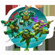 kleurplaten van de turtles