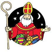 Kleurplaten Van Sinterklaas En De Pieten.Kleurplaten Sinterklaas En Zwarte Piet