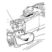 Cars Kleurplaat Takel Kleurplaat Cars Pixar 2389