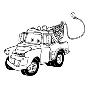 Kleurplaat Cars Pixar 2437