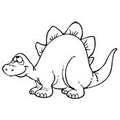 Gratis Kleurplaten Dinosaurus.Kleurplaten Dinosaurus