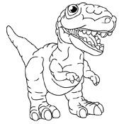 Kleurplaten Vliegende Dino.Kleurplaten Dinosaurus