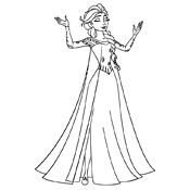 Kleurplaten Prinses Frozen.Kleurplaten Frozen Olaf Disney