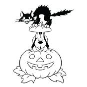 Kleurplaten Halloween