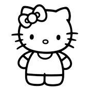 Kleurplaten Hello Kitty Princess.Kleurplaten Hello Kitty
