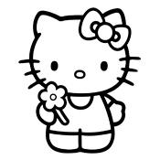 Kleurplaten Hello Kitty Printen.Kleurplaat Hello Kitty 2297