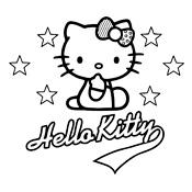 Kleurplaten Hello Kitty Halloween.Kleurplaat Hello Kitty 2343