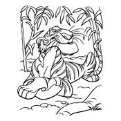 Kleurplaat Roodkapje Printen Kleurplaat Jungle Book Disney 582