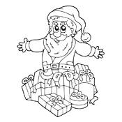 Rudolf het rendier met de rode neus kleurplaten → Leuk voor kids