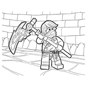 Kleurplaat Lego Ninjago Masters Of Spinjitzu 4096