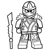 Kleurplaten Lego Ninjago Kai.Kleurplaat Ninjago Kai