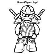 Kleurplaat Lego Ninjago Masters Of Spinjitzu 4092