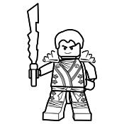 Alle Kleurplaten Van Lego Ninjago.Kleurplaat Ninjago Kai