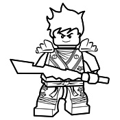 kleurplaten lego ninja go