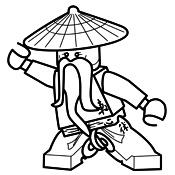 kleurplaat lego ninjago masters of spinjitzu 4120