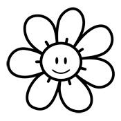 Afbeeldingsresultaat voor bloem kleurprent