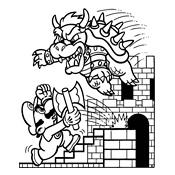 Kleurplaten Super Mario.Kleurplaten Mario Bros En Luigi Nintendo