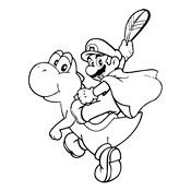 Kleurplaten Baby Mario.Kleurplaten Mario Bros En Luigi Nintendo