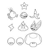 Kleurplaten Mario En Sonic.Kleurplaten Mario Bros En Luigi Nintendo