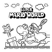 Kleurplaten Mario En Luigi.Kleurplaten Mario Bros En Luigi Nintendo
