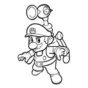 Mario Peach Kleurplaten.Kleurplaten Mario Bros En Luigi Nintendo