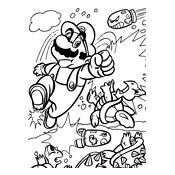 Kleurplaat Mario Bros En Luigi Nintendo 809