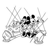 Kleurplaten Mickey Mouse Disney