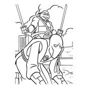 Kleurplaten Teenage Mutant Ninja Turtles.Ninja Turtles Kleurplaat