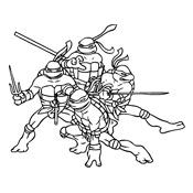 Kleurplaten Ninja Turtles.Kleurplaat Ninja Turtles 1049