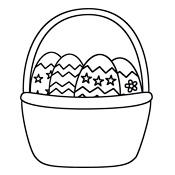 Kleurplaten Pasen Eieren.Kleurplaten Pasen En De Paashaas