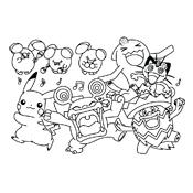 Kleurplaat Pokemon 2936