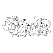 Kleurplaat Pokemon 3000
