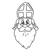 Kleurplaten Van Sinterklaas Zijn Paard.Kleurplaat Sinterklaas En Zwarte Piet 2845