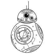 Kleurplaat Star Wars 4005