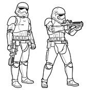 kleurplaten van star wars 3