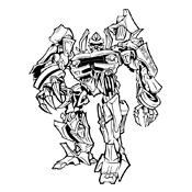 Transformers Kleurplaten Printen.Kleurplaten Transformers