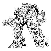 Kleurplaten Van Transformers.Kleurplaten Transformers