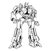 Kleurplaat Transformers 2567