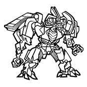 Kleurplaat Transformers 2577