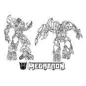 Kleurplaat Transformers 2580