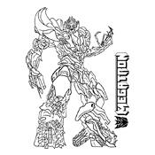 Transformers Kleurplaten Printen.Kleurplaat Transformers 2596