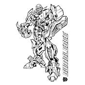 Kleurplaat Transformers 2604
