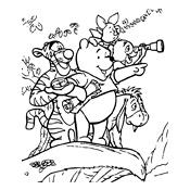 kleurplaat winnie de pooh disney 1704