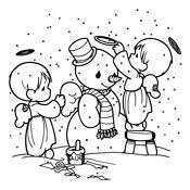 Kleurplaten Rond Winter.Kleurplaten Winter Vol Sneeuwpret Seizoen