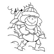 kleurplaat winter vol sneeuwpret seizoen 3245